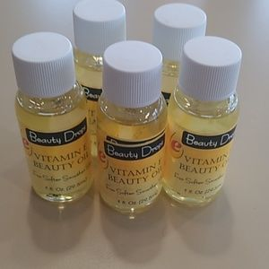 Vitamin E beauty oils